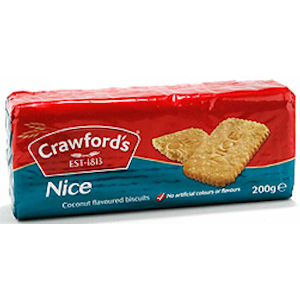 CRAWFORD'S NICE BISCUITS (150g) x 12