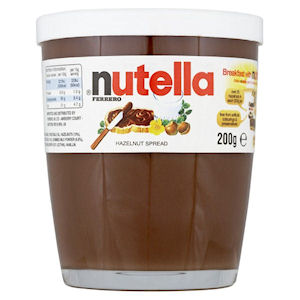 NUTELLA JARS (200g) x 15