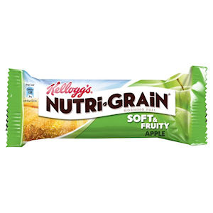 KELLOGG'S NUTRI-GRAIN SOFT & FRUITY APPLE BARS (37g) x 28