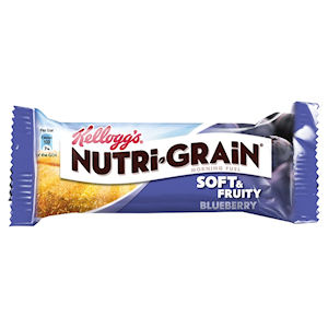 KELLOGG'S NUTRI-GRAIN SOFT & FRUITY BLUEBERRY BARS (37g) x 28
