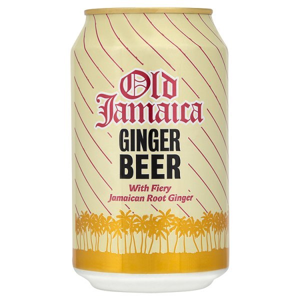 OLD JAMAICA GINGER BEER CANS (330ml) x 24