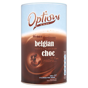OPTIONS BELGIAN HOT CHOCOLATE TIN (825g)