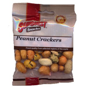 SUNBURST PEANUT CRACKERS (60g) x 14