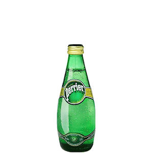 PERRIER SPRING WATER - CLEAR GLASS BOTTLES (330ml) x 24