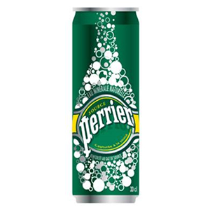 PERRIER SPRING WATER CANS (250ml) x 35