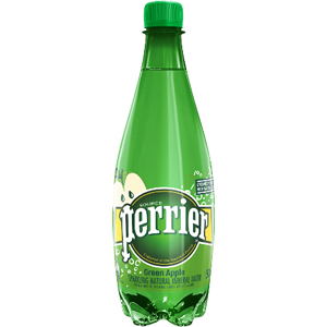 PERRIER GREEN APPLE SPARKLING WATER (500ml) x 24