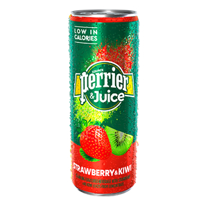 PERRIER & JUICE STRAWBERRY & KIWI (250ml) x 24