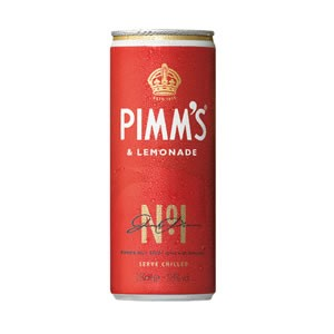 PIMM'S & LEMONADE CANS (250ml) x 12