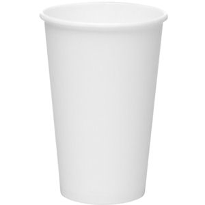 PAPER CUPS WHITE (12oz/341ml) x 1000