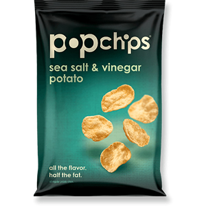 POPCHIPS SEA SALT & VINEGAR (23g) x 24