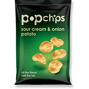 POPCHIPS SOUR CREAM & ONION (23g) x 24