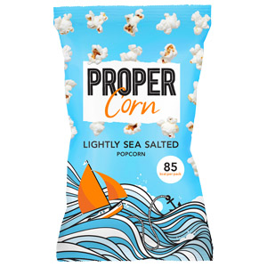 PROPERCORN LIGHTLY SEA SALTED POPCORN (20g) x 24