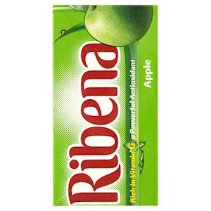RIBENA APPLE CARTONS (285ml) x 27