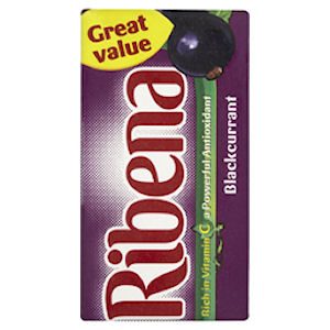 RIBENA BLACKCURRANT CARTONS (285ml) x 27
