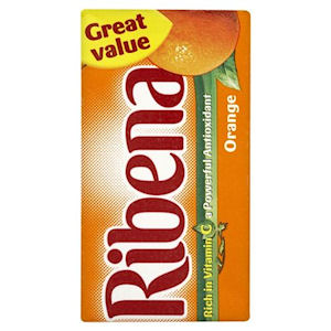 RIBENA ORANGE CARTONS (285ml) x 27