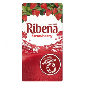 RIBENA STRAWBERRY CARTONS (285ml) x 24