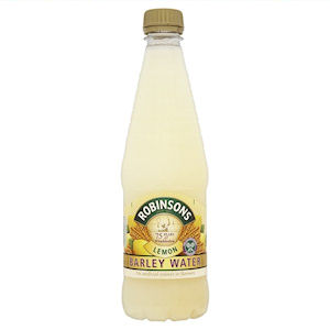 ROBINSONS LEMON BARLEY WATER (850ml) x 8
