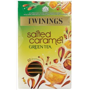TWININGS SALTED CARAMEL GREEN TEA (20 bags)