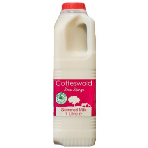 COTTESWOLD FRESH SKIMMED MILK (1 Litre)