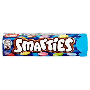 NESTLÉ SMARTIES HEX TUBE (38g) x 48