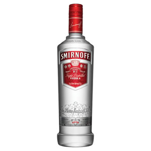 SMIRNOFF RED LABEL VODKA (70cl)