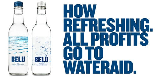 Belu Water for the Office - All Profits to WaterAid