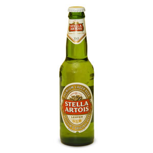 STELLA ARTOIS PREMIUM LAGER - GLASS BOTTLES (330ml) x 24