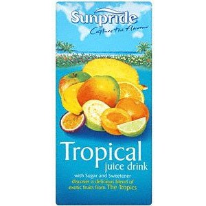 SUNPRIDE TROPICAL JUICE DRINK (1L) x 12
