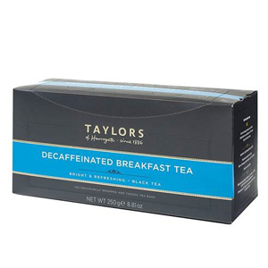 TAYLORS OF HARROGATE DECAF ENGLISH BREAKFAST (100 BAGS)