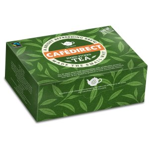 CAFÉDIRECT FAIRTRADE EVERYDAY CLASSIC TEA BAGS (80 bags) x 6