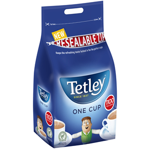 TETLEY ORIGINAL ONE CUP TEA BAGS (1100 bags)
