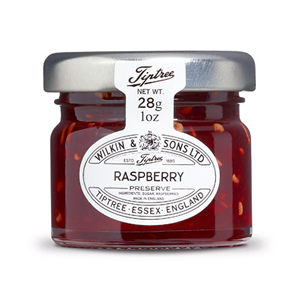 TIPTREE RASPBERRY JAM PRESERVE PORTIONS GLASS (28g) x 72
