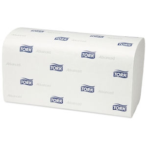 TORK ADVANCED 2 PLY C-FOLD PAPER CLASSIC PLUS HAND TOWELS 31x24.8cm (120-sheet) x 20