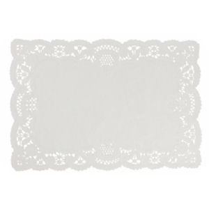 NO2 TRAY PAPERS WHITE (13.5in x 10.5in) x 1000