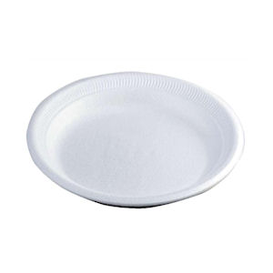 TRIM PLATE DISPOSABLE 7in DESSERT PLATES WHITE x 600