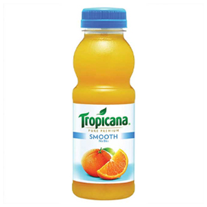 TROPICANA SMOOTH ORANGE JUICE (300ml) x 8