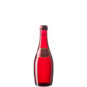 TY NANT MINERAL WATER SPARKLING - RED GLASS BOTTLES (330ml) x 24