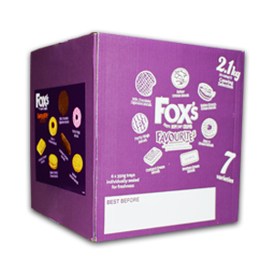 FOX'S FAVOURITES BISCUITS CATERING SELECTION (350g) x 6