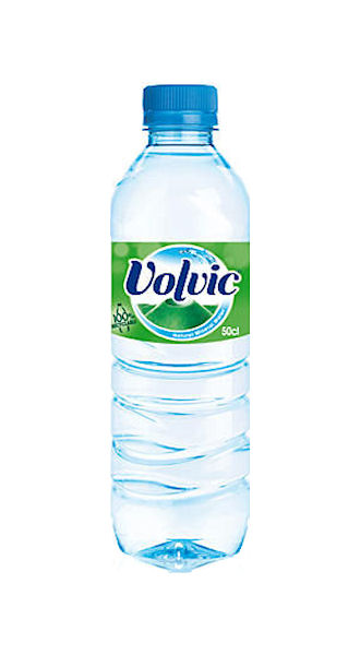 VOLVIC MINERAL WATER STILL - PLASTIC BOTTLES (500ml) x 24