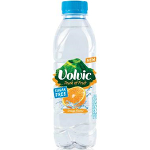 VOLVIC TOUCH OF FRUIT ORANGE - SUGAR FREE (500ml) x 12