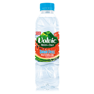 VOLVIC TOUCH OF FRUIT WATERMELON - SUGAR FREE (500ml) x 12
