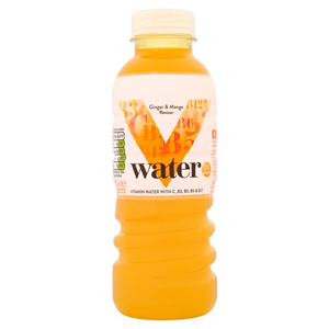 SOBE V WATER GINGER & MANGO (500ml) x 6