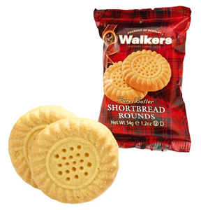 WALKERS MINI PACK SHORTBREAD ROUNDS (2-pack) x 120