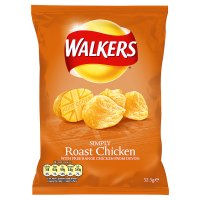 WALKERS ROAST CHICKEN (32.5g) x 32