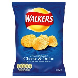 WALKERS CHEESE & ONION (32.5g) x 32