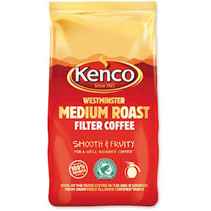 KENCO WESTMINSTER MEDIUM ROAST FILTER COFFEE (1kg) x 10