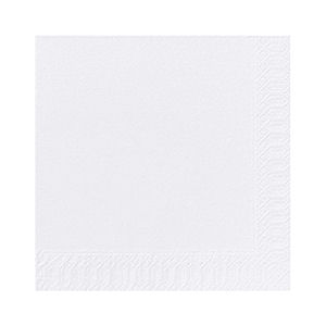 2 PLY 13in NAPKINS WHITE (100-pack) x 20
