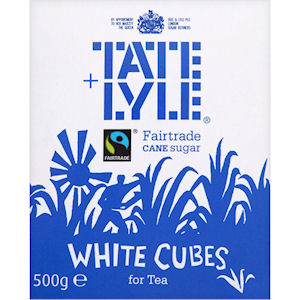 TATE & LYLE UNWRAPPED WHITE SUGAR CUBES (5kg)