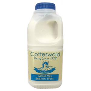 COTTESWOLD FRESH WHOLE MILK (1 Pint)
