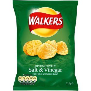 WALKERS SALT & VINEGAR (32.5g) x 32
